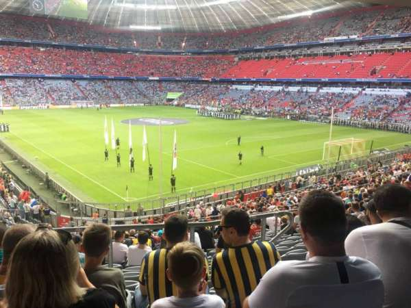 Allianz Arena, section: 127, row: 27, seat: 20
