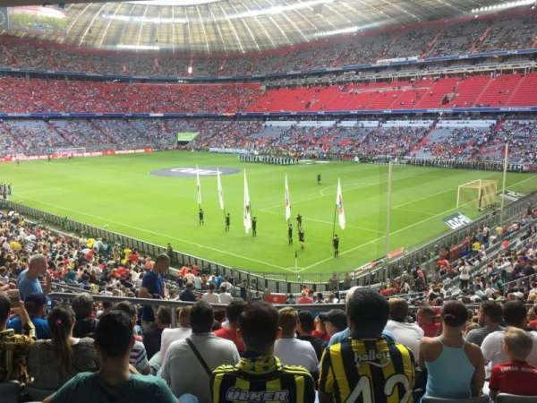Allianz Arena, section: 126, row: 27, seat: 15