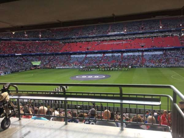 Allianz Arena, section: 123, row: Wc, seat: 187