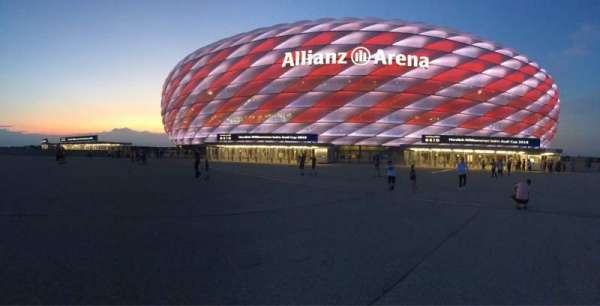 Allianz Arena, section: Outside