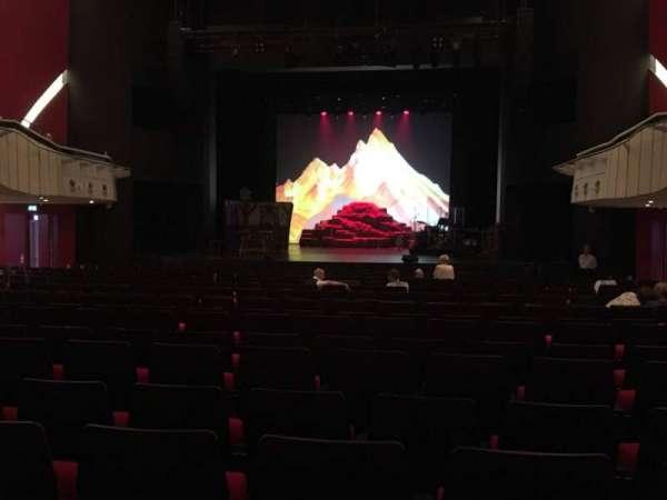 Deutsches Theater, section: Parkett, row: 20, seat: 12