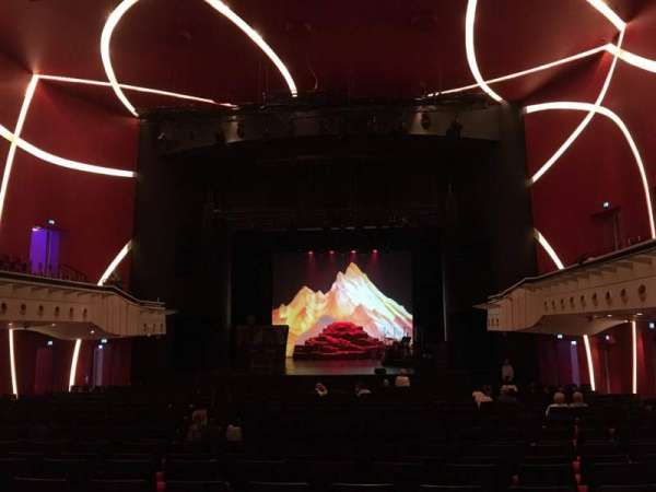 Deutsches Theater, section: Parkett, row: 27, seat: 08