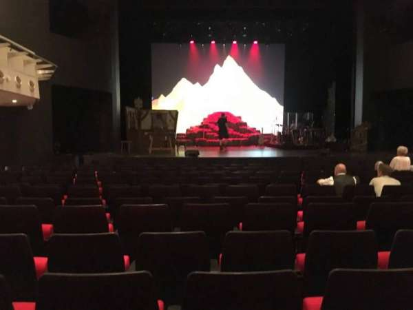 Deutsches Theater, section: Parkett, row: 13, seat: 20