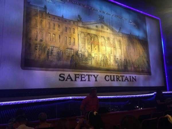 The London Palladium, section: Stalls, row: F, seat: 30