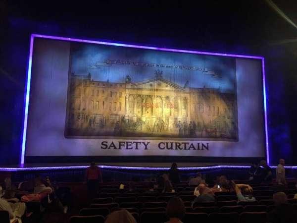 The London Palladium, section: Stalls, row: N, seat: 31
