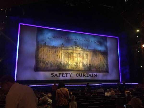 The London Palladium, section: Stalls, row: O, seat: 34