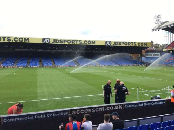 Selhurst Park, section: E, row: 8, seat: 90