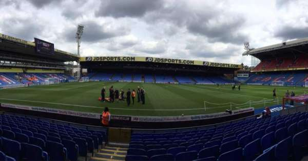 Selhurst Park, section: E, row: 11, seat: 88