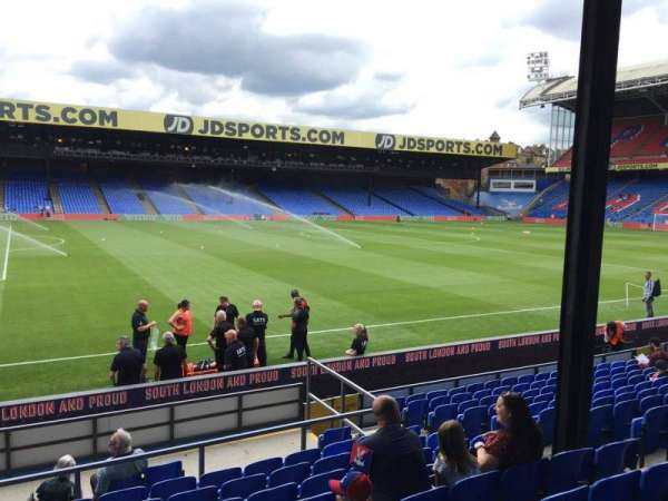 Selhurst Park, section: C, row: 14, seat: 55