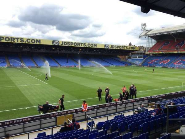 Selhurst Park, section: B, row: 17, seat: 35