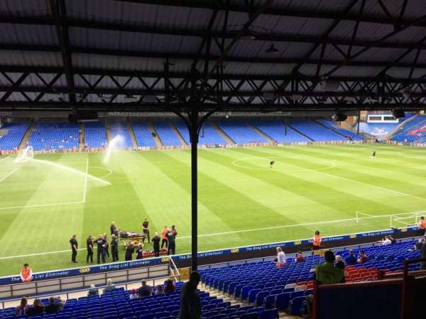 Selhurst Park, section: C, row: 29, seat: 57