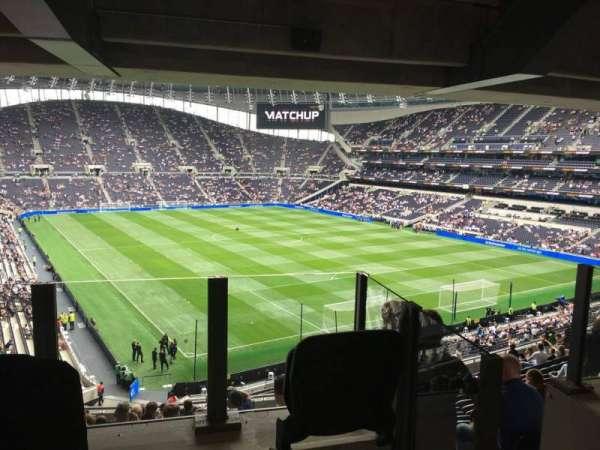Tottenham Hotspur Stadium, section: 423, row: 16, seat: 467