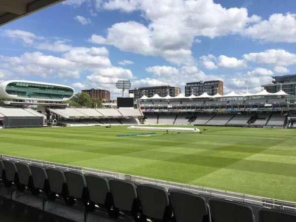 Lord's Cricket Ground, section: Grandstand A, row: 12, seat: 43
