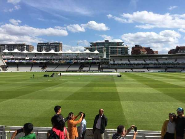 Lord's Cricket Ground, section: Grandstand B, row: 7, seat: 69