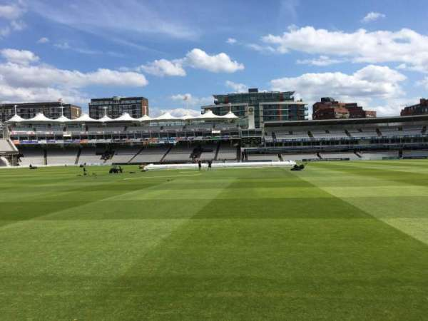 Lord's Cricket Ground, section: Grandstand B, row: 3, seat: 73