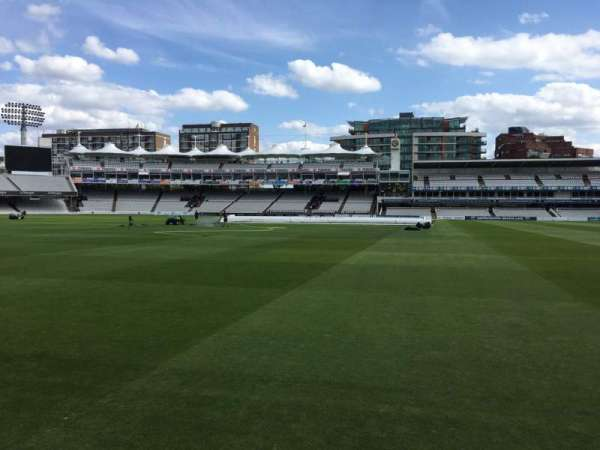 Lord's Cricket Ground, section: Grandstand A, row: 2, seat: 60
