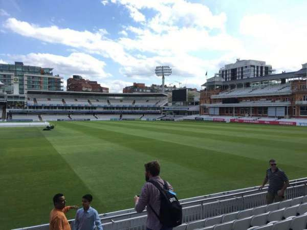Lord's Cricket Ground, section: Grandstand B, row: 7, seat: 70