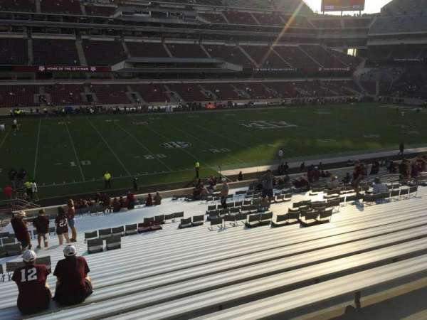 Kyle Field, section: 127, row: Wc, seat: 34