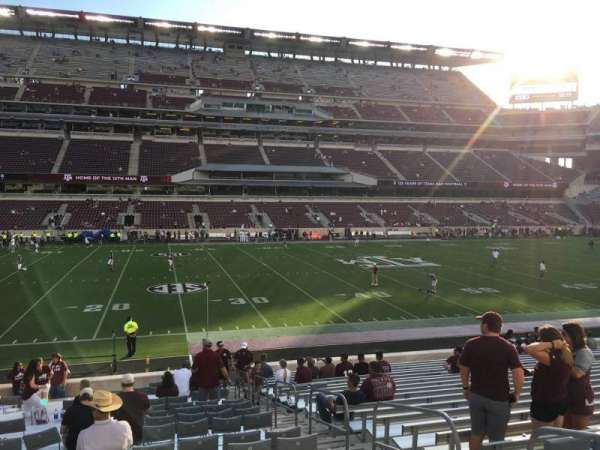 Kyle Field, section: 126, row: 23, seat: 4