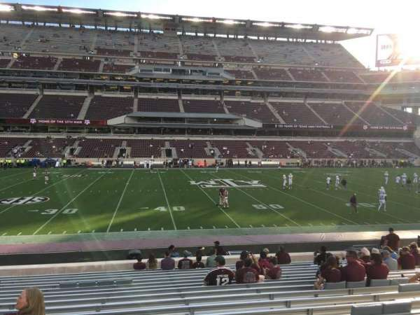 Kyle Field, section: 125, row: 19, seat: 20