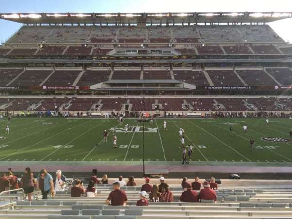 Kyle Field, section: 125, row: 22, seat: 24