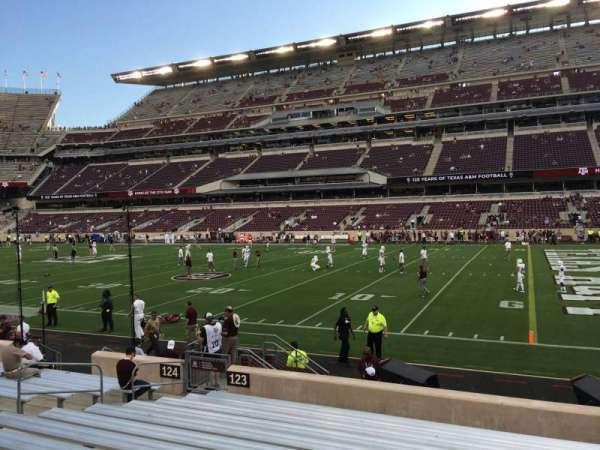 Kyle Field, section: 123, row: 13, seat: 29