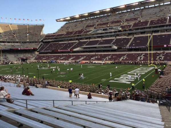 Kyle Field, section: 122, row: 30, seat: 1