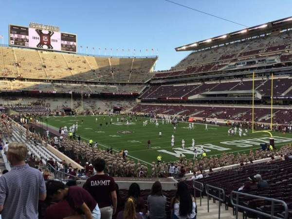 Kyle Field, section: 120, row: 27, seat: 17