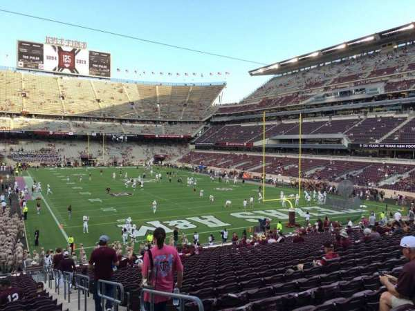 Kyle Field, section: 119, row: 30, seat: 2