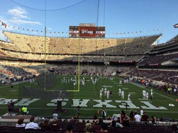 Kyle Field, section: 117, row: 20, seat: 9