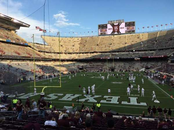 Kyle Field, section: 116, row: 21, seat: 24