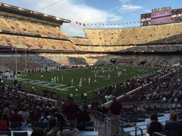 Kyle Field, section: 114, row: 33, seat: 27