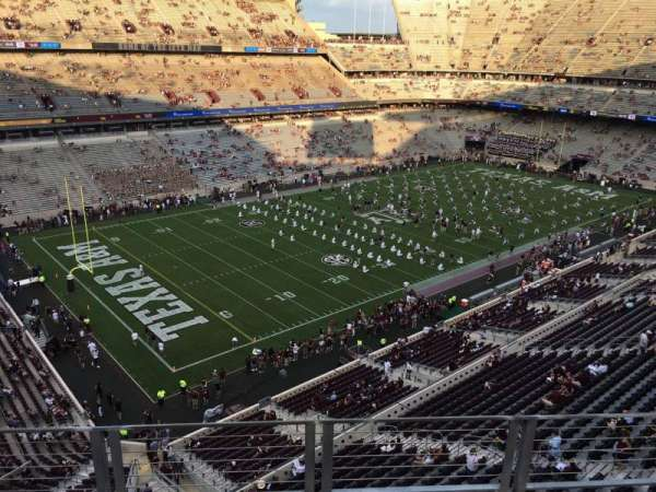 Kyle Field, section: 312, row: 4, seat: 17
