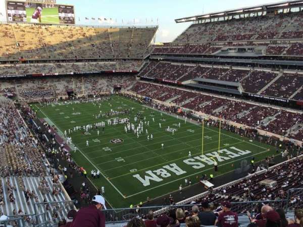 Kyle Field, section: 315, row: 10, seat: 15