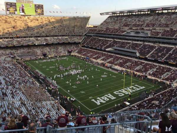 Kyle Field, section: 421, row: 8, seat: 13