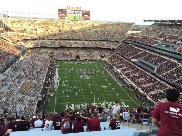 Kyle Field, section: 417, row: 30, seat: 8