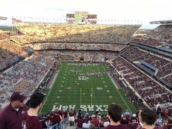 Kyle Field, section: 415, row: 29, seat: 22
