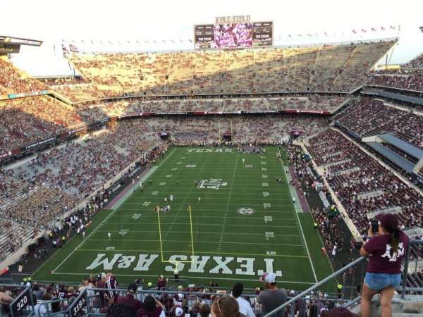 Kyle Field, section: 414, row: 6, seat: 4