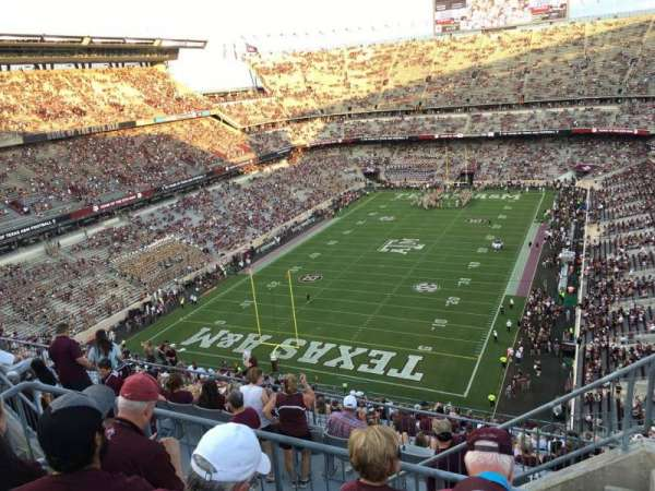 Kyle Field, section: 412, row: 6, seat: 1