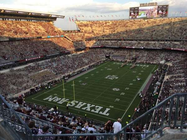 Kyle Field, section: 411, row: 4, seat: 4