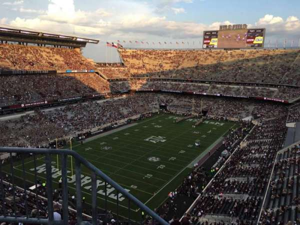 Kyle Field, section: 409, row: 3, seat: 26