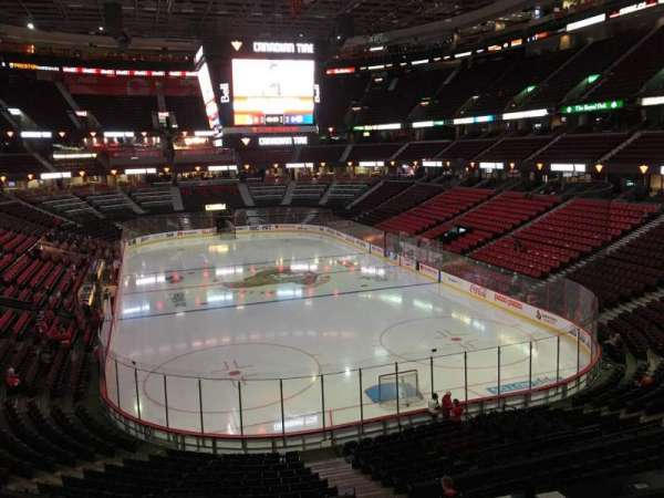 Canadian Tire Centre, section: 202, row: D, seat: 8