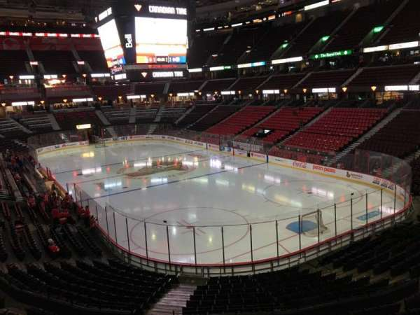 Canadian Tire Centre, section: 203, row: B, seat: 9