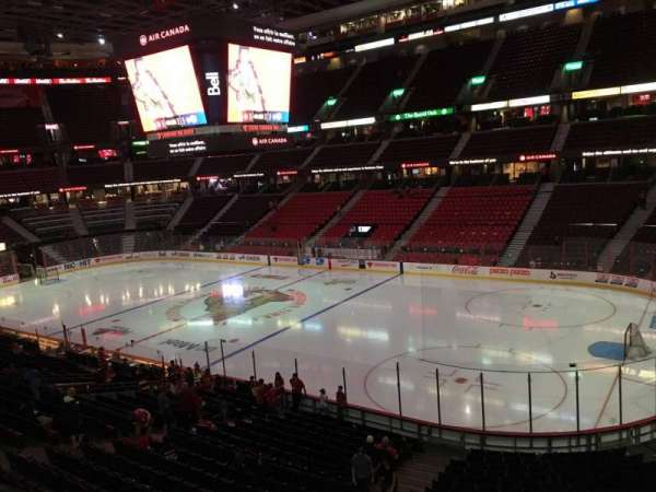 Canadian Tire Centre, section: 205, row: C, seat: 8
