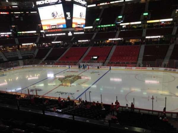 Canadian Tire Centre, section: 206, row: E, seat: 10