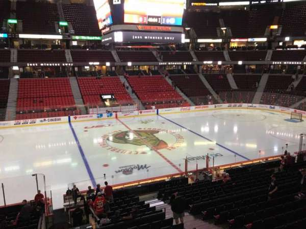 Canadian Tire Centre, section: 209, row: A, seat: 9