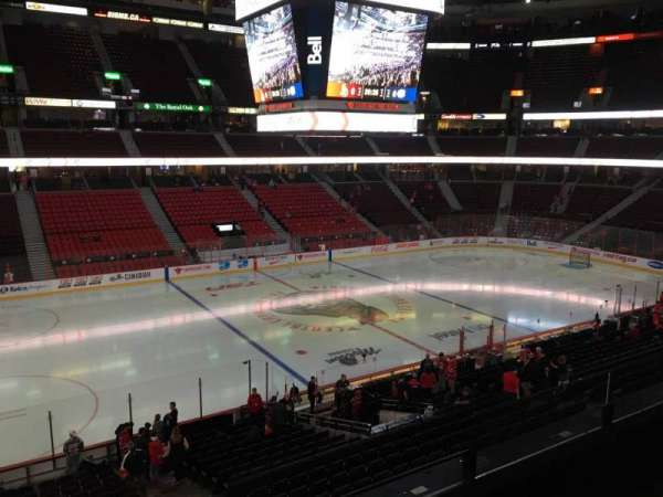 Canadian Tire Centre, section: 210, row: C, seat: 6