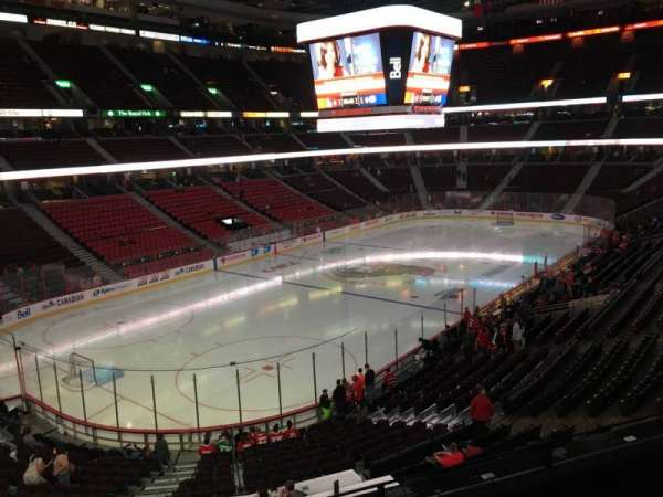Canadian Tire Centre, section: 212, row: C, seat: 9