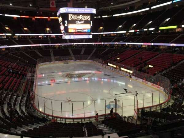 Canadian Tire Centre, section: 216, row: D, seat: 9