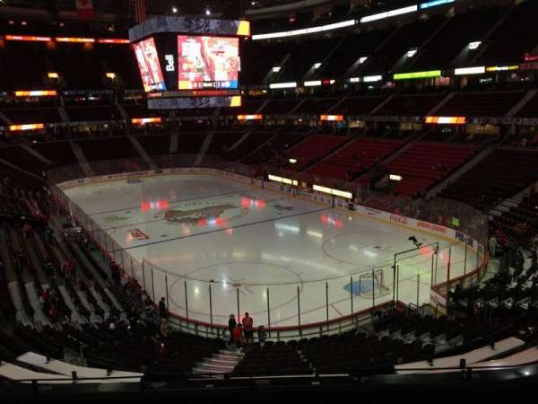 Canadian Tire Centre, section: 217, row: F, seat: 8